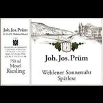 Joh. Jos. Prüm J J Prum Wehlener Sonnenuhr Spatlese Riesling 2018  Mosel, Germany