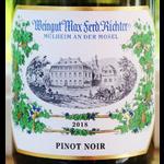Wéingut Max Ferd. Ríchter Weingut Max Ferd Richter Pinot Noir 2018 Mosel. Germany