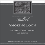 Smoking Loon Wine Co. Smoking Loon Steelbird Unoaked Chardonnay 2019 California