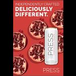 Press Press Malt Seltzer Pomegranate Ginger  Priced Per Can