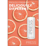 Press Press Malt Seltzer Grapefruit Cardamom Priced Per Can
