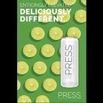 Press Press Malt Seltzer Lime Lemongrass  Priced Per Can