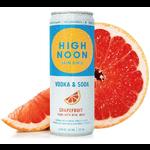 High Noon High Noon Sun Sip Vodka & Soda Grapefruit   Priced Per Can
