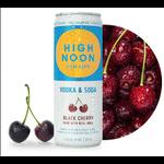 High Noon High Noon Sun Sips Vodka & Soda Black Cherry   Priced Per Can