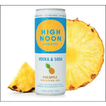 High Noon High Noon Sun Sips Vodka & Soda Pineapple   Priced Per Can