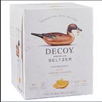 Decoy Primium Seltzer Decoy Wine Seltzer Chardonnay with Lemon & Ginger 4 Pack Cans 250ml California