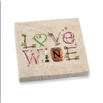 Epic Style Wine Letters Dinner Napkins Set of 20