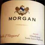 Morgan Winery Morgan Chardonnay Highland 2018 Santa Lucia, California