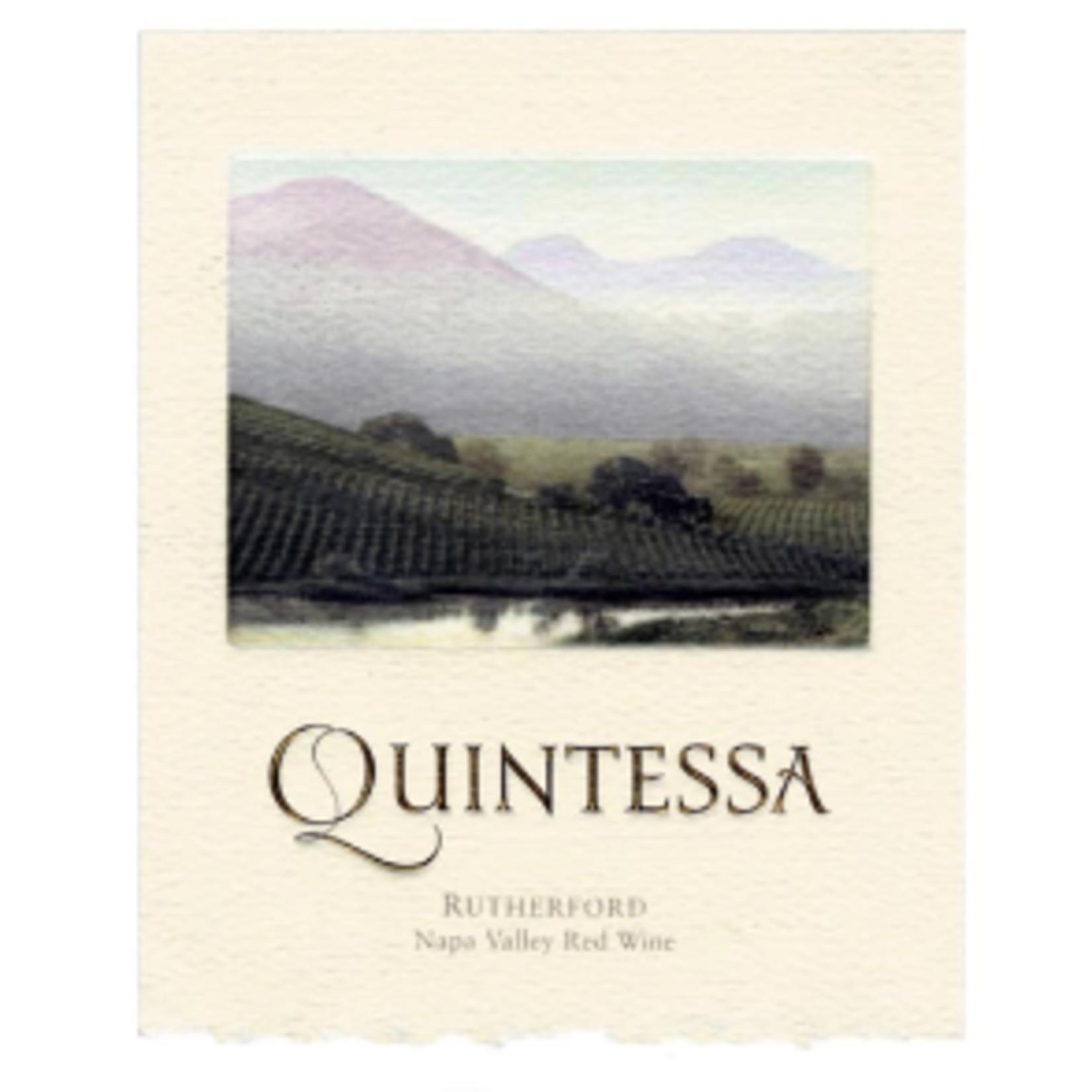 Quintessa Quintessa Red Blend California  93pts-JS