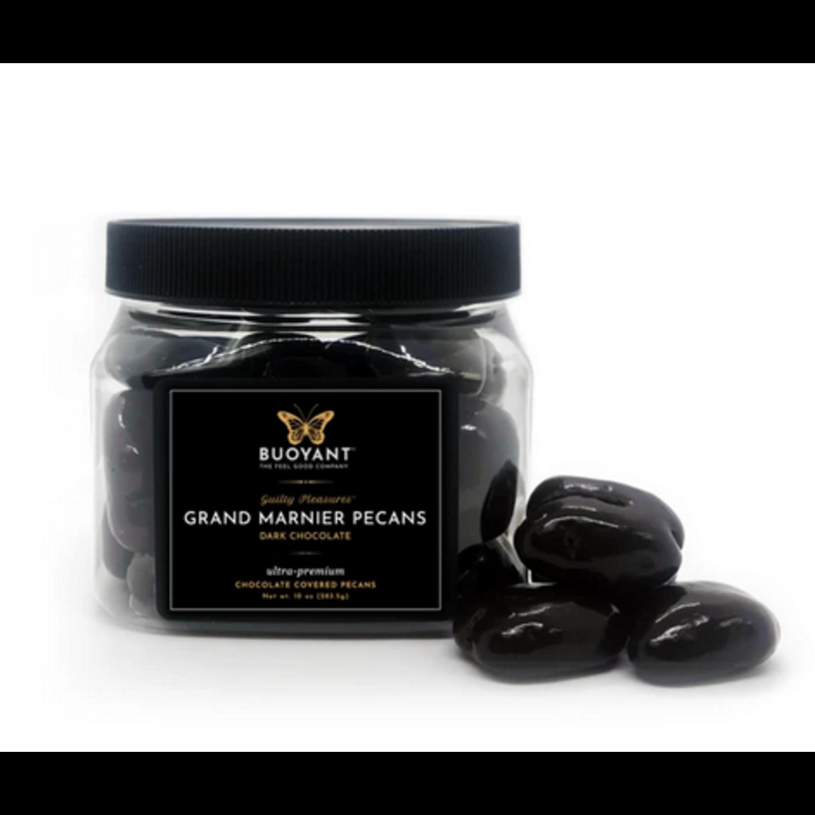 Buoyant Brands Buoyant Grand Marnier Pecans - Dark Chocolate