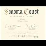 Raen Winery Raen Sonoma Coast Royal St. Robert Pinot Noir 2018 Sonoma, California 96pts-JS