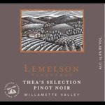 Lemelson Vineyards Lemelson Vineyards Thea's Selection Pinot Noir 2018  Willamette Valley, Oregon  93pts-JS