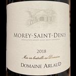 Domaine Arlaud Domaine Arlaud Morey-Saint-Denis 2018  Burgundy, France