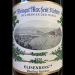 Wéingut Max Ferd. Ríchter Richter Veldenzer Elisenberg Riesling Spatlese 2019 Germany