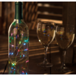 Primatives By Kathy Primatives By Kathy Wine Bottle Lights - MULTI-COLORED
