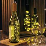Primatives By Kathy Best Seller Wine Bottle Lights - WHITE