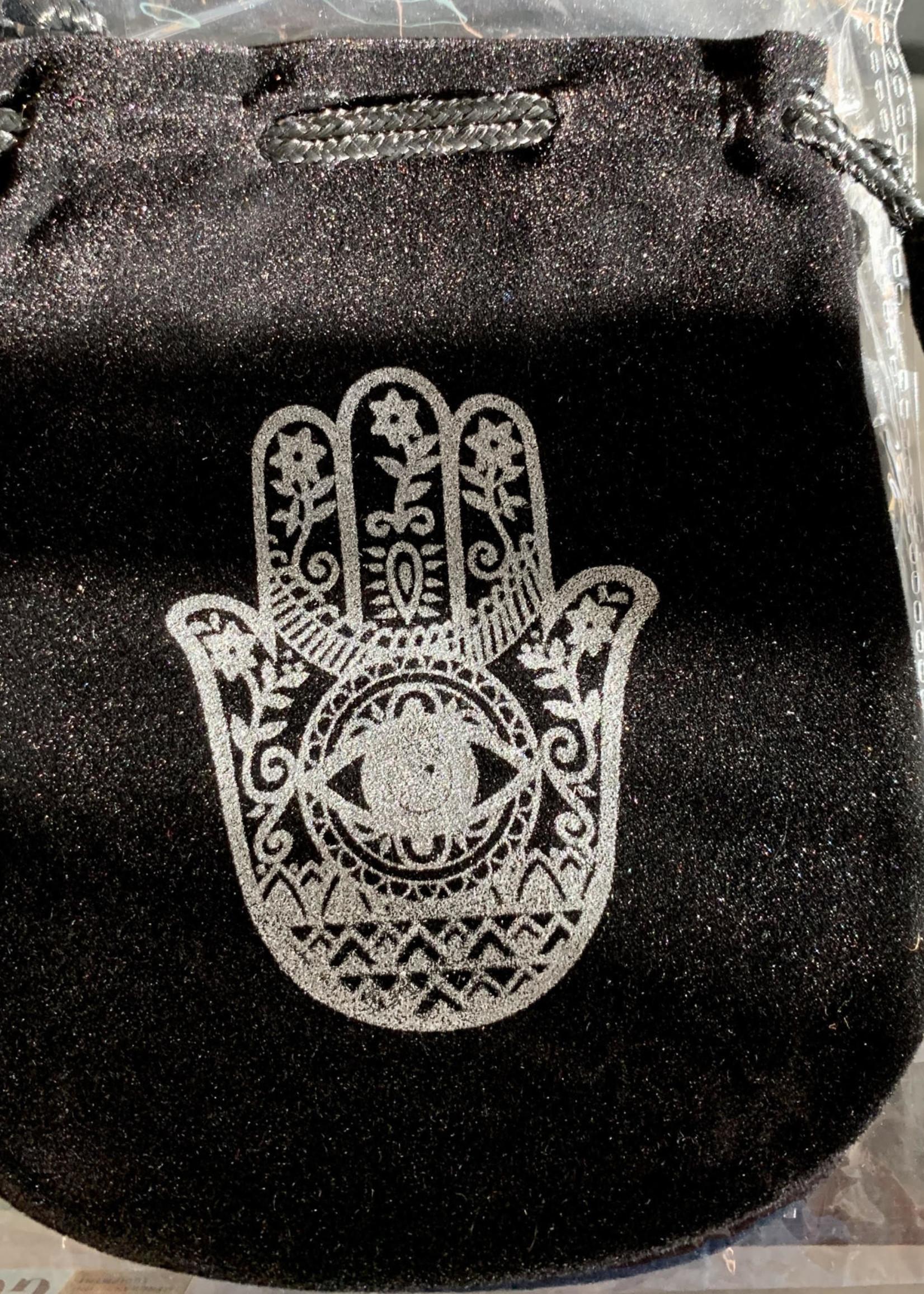 Black Velveteen Bags