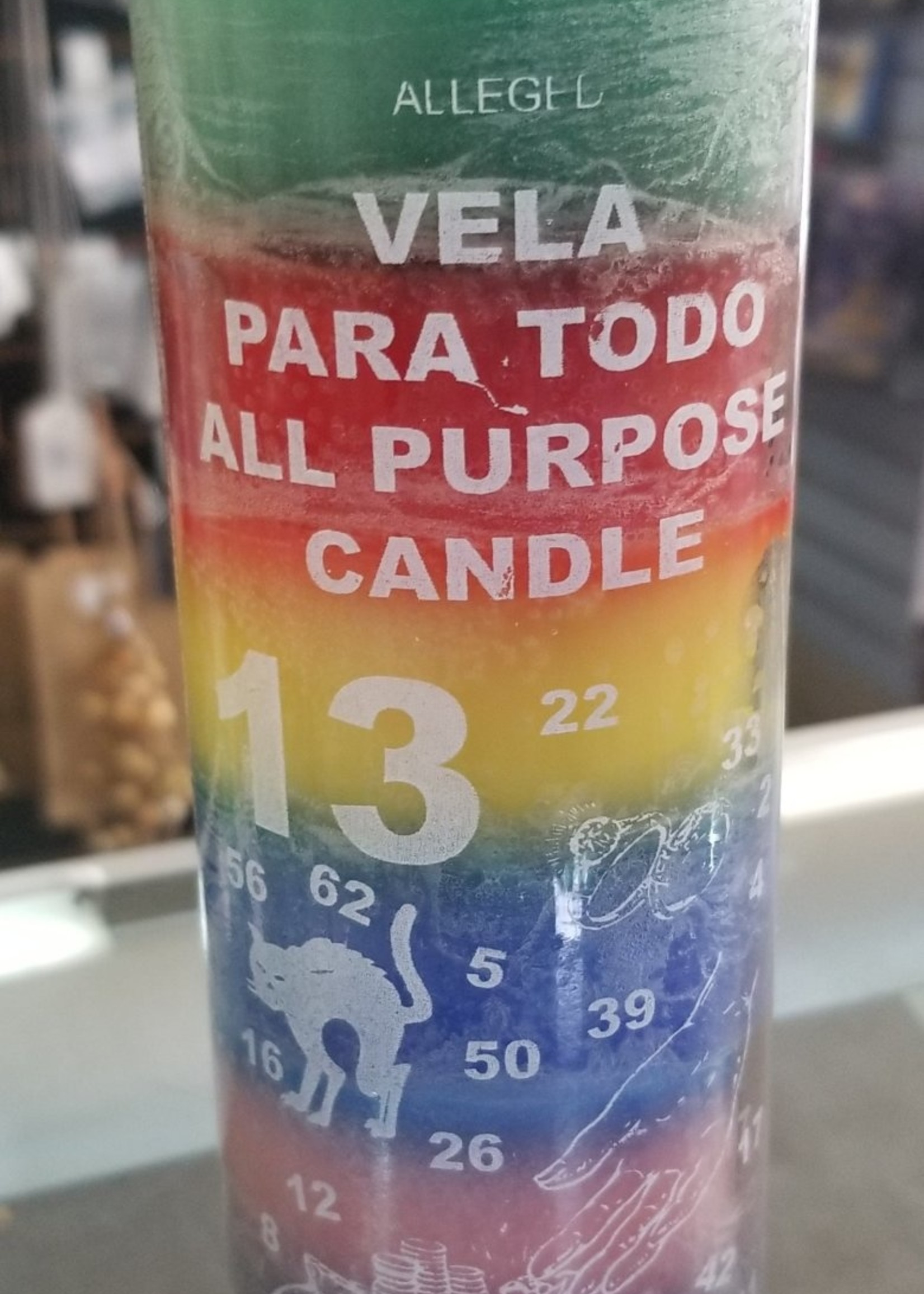 Seven Day Charged Candles