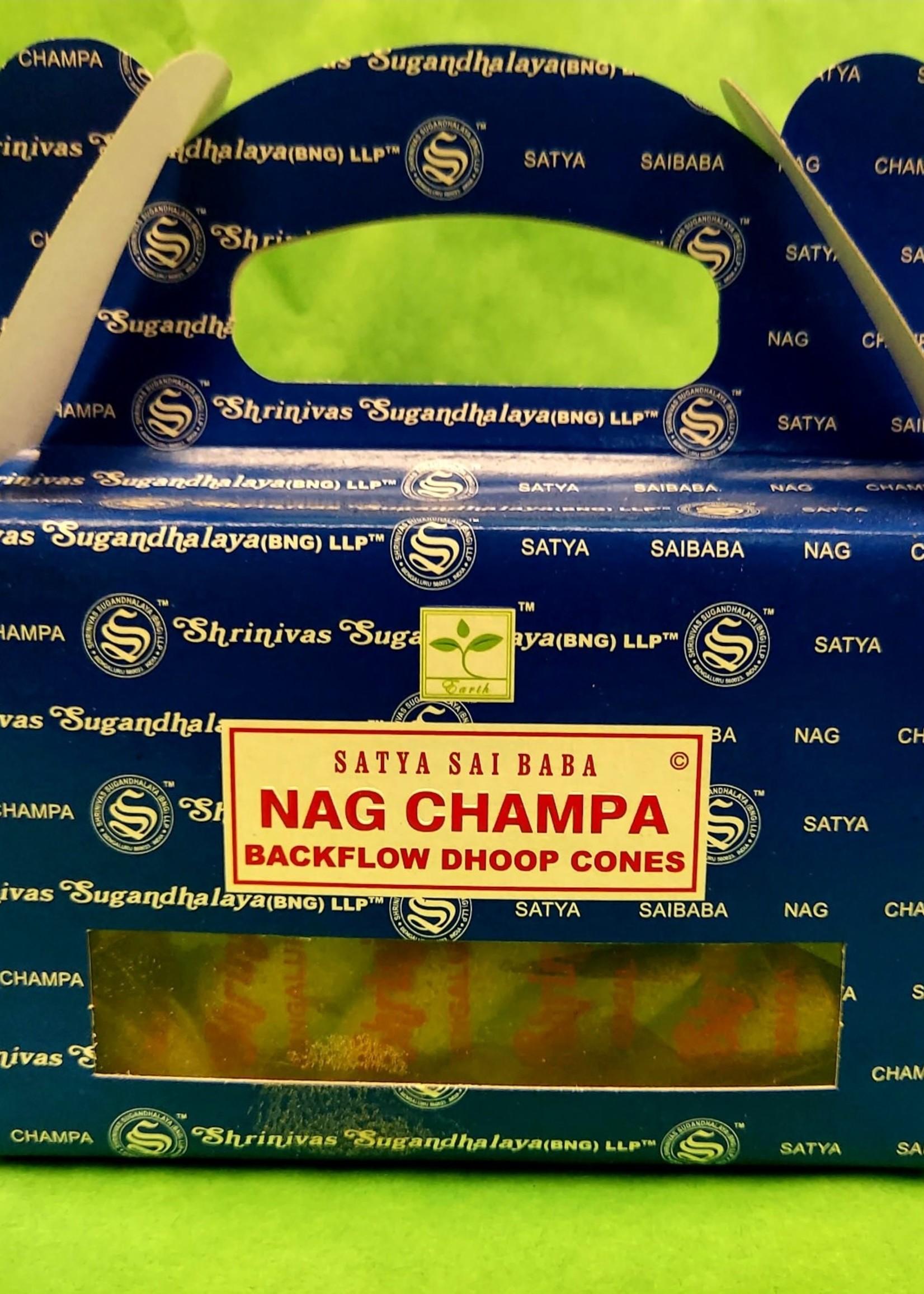 Satya Satya Backflow Cone Incense