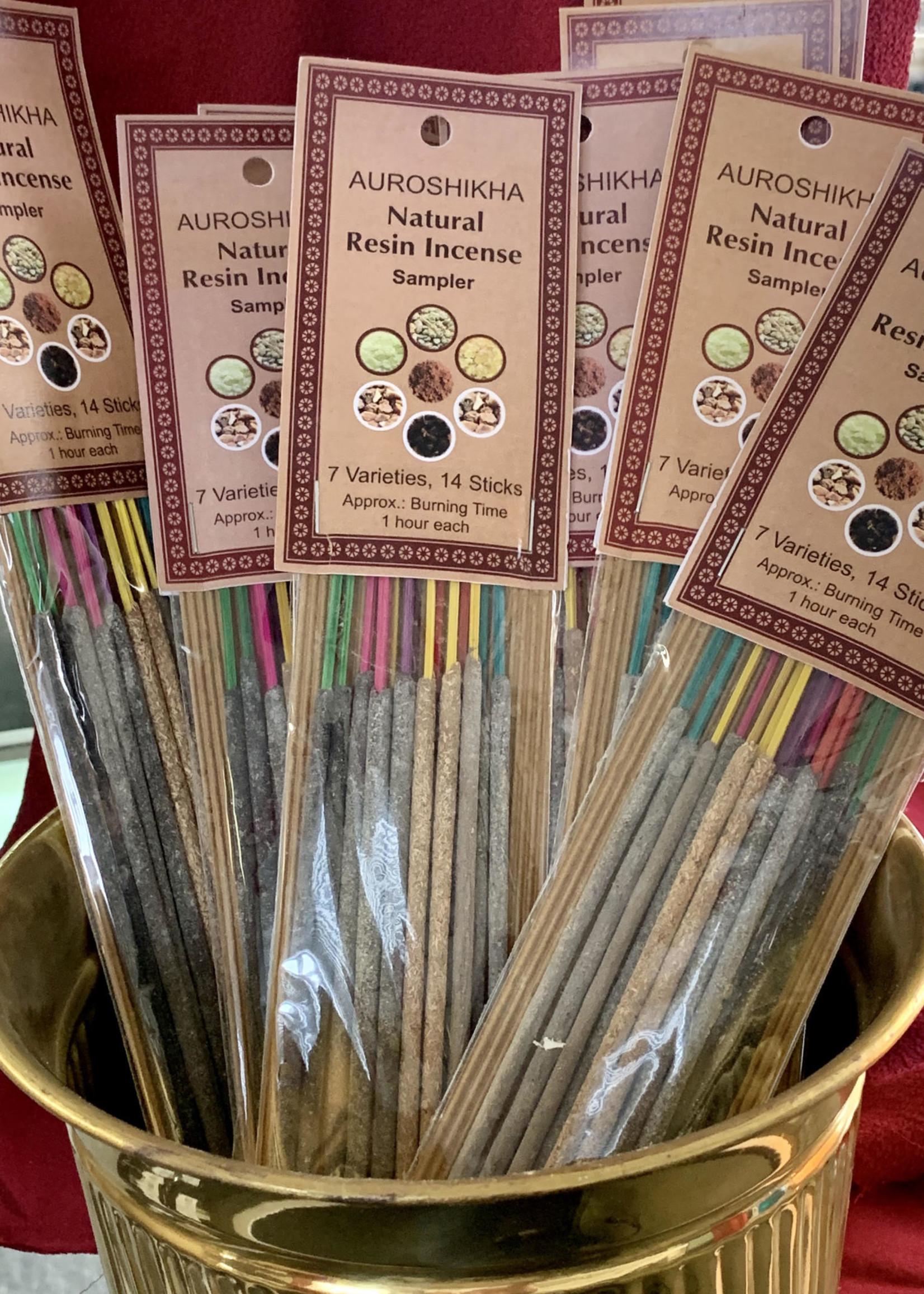 Auroshinkha Auroshinkha Natural Resin Incense Sampler