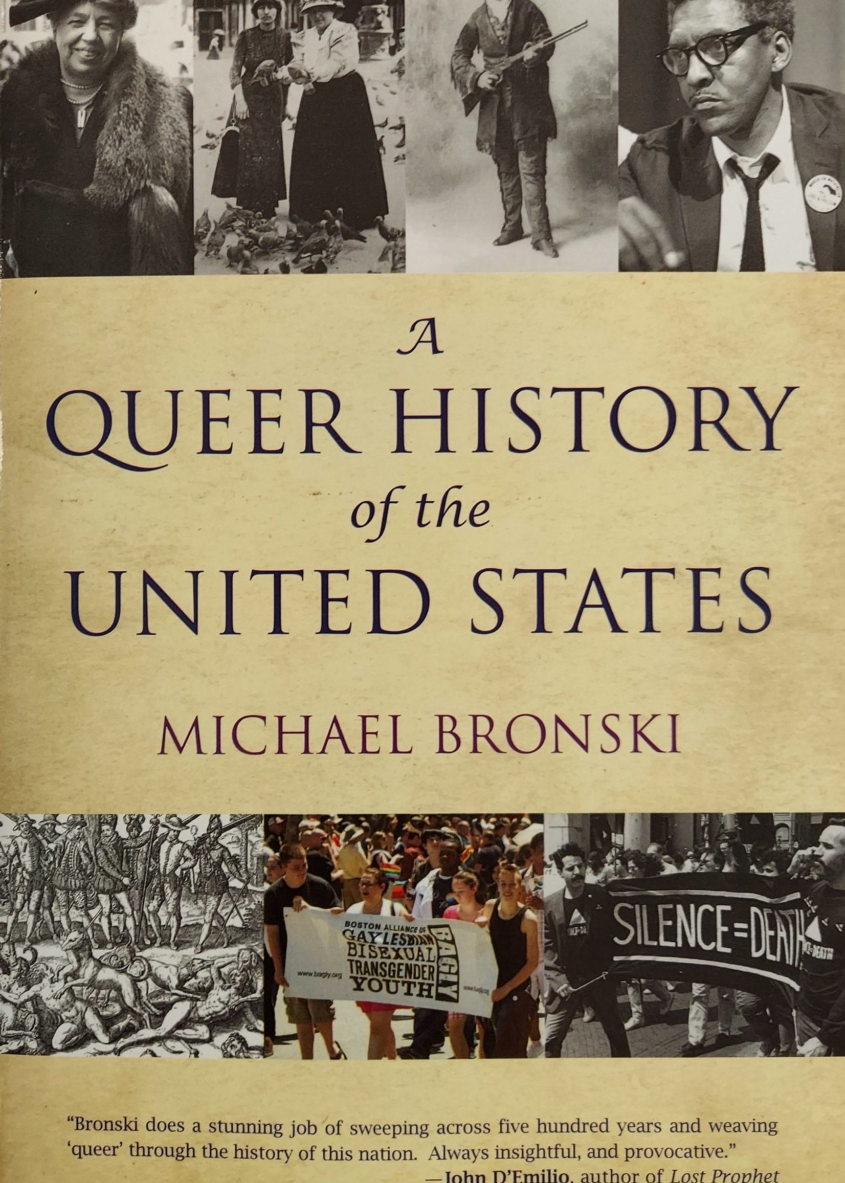 A Queer History of the United States-By MICHAEL BRONSKI