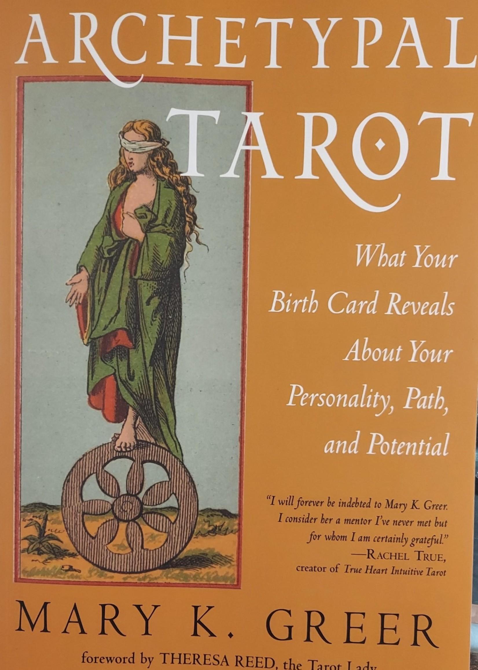 Archetypal Tarot-Author Mary K. Greer