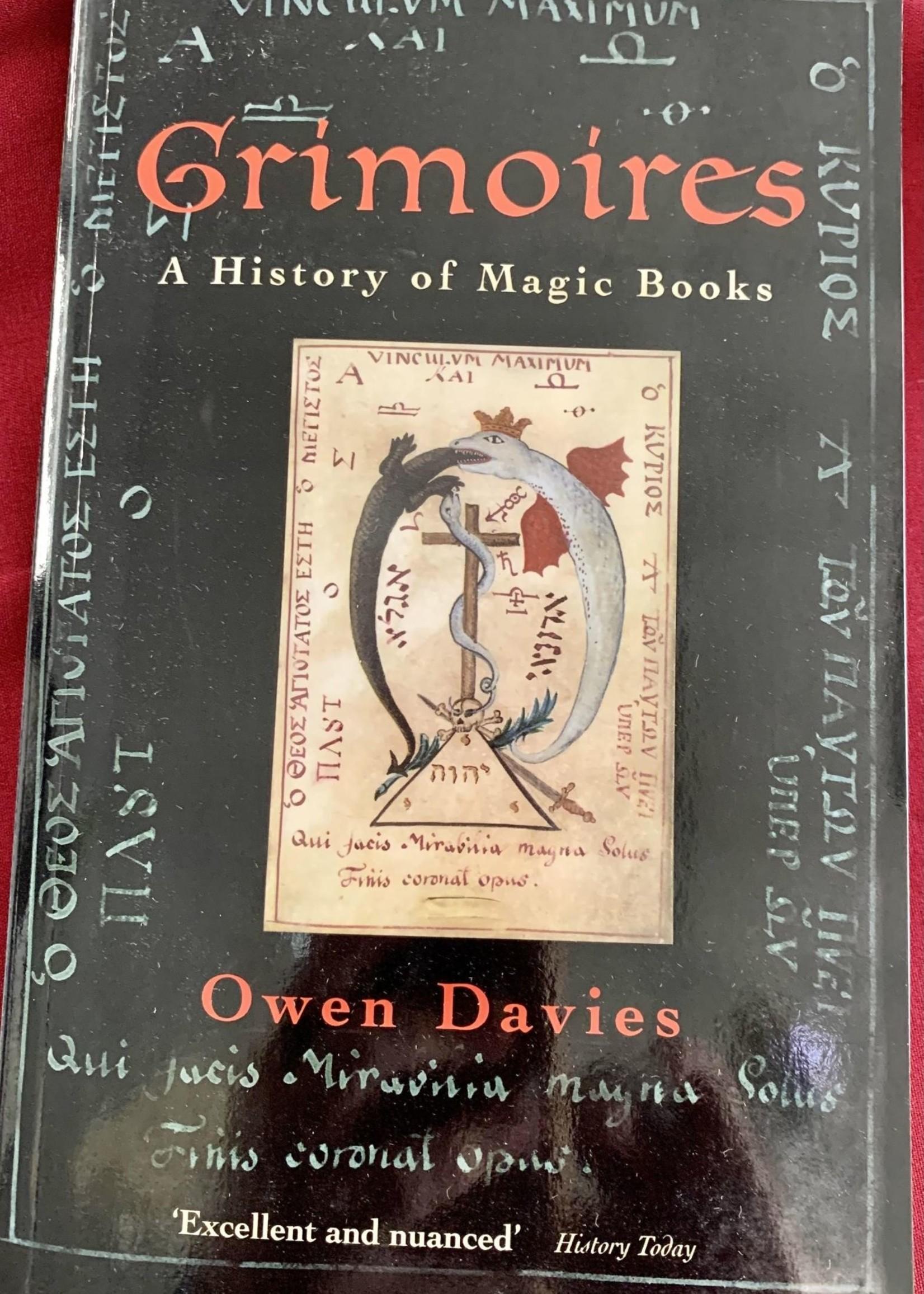 Grimoires A History of Magic Books - Owen Davies