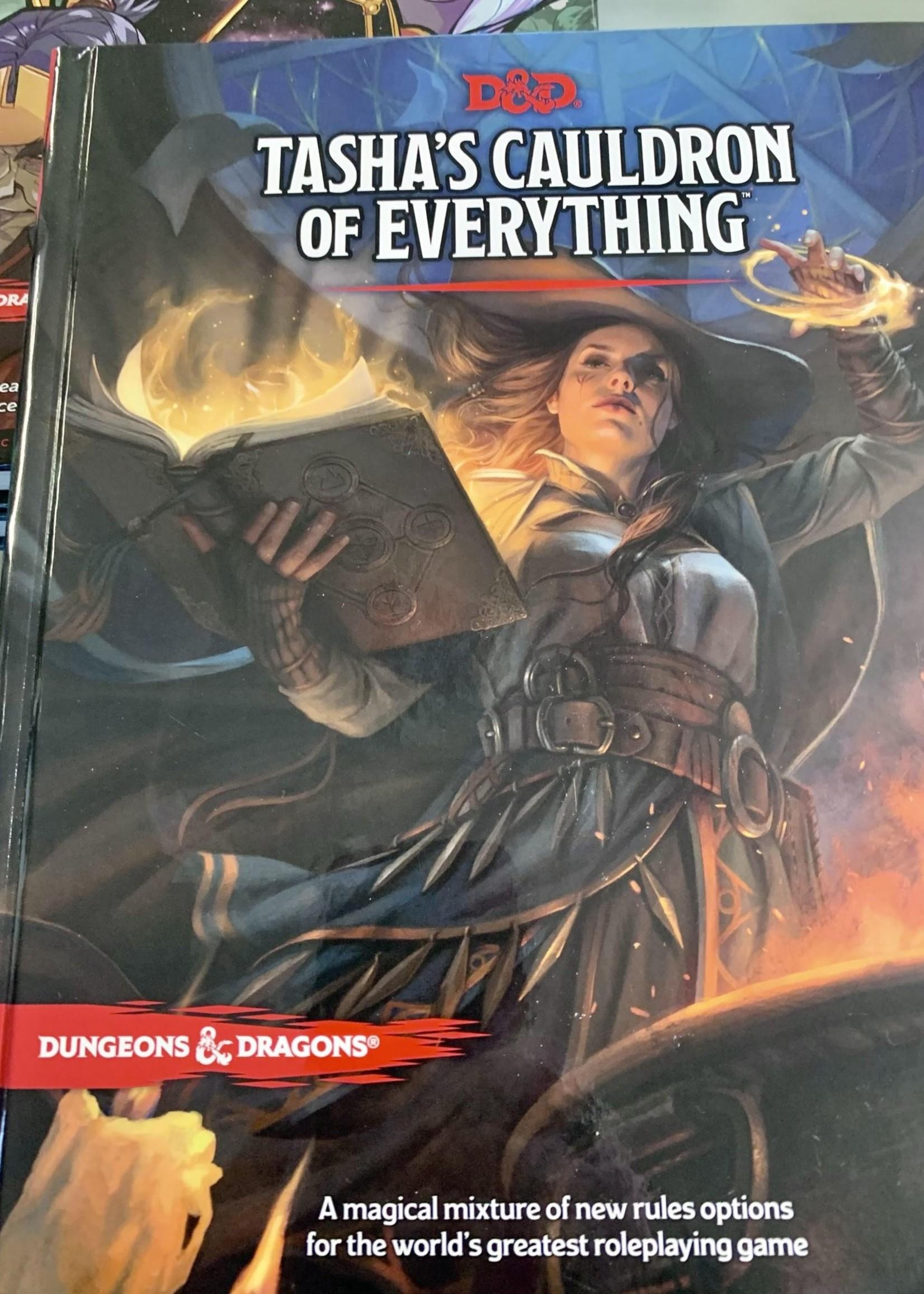 Dungeons & Dragons - Tasha's Cauldron of Everything