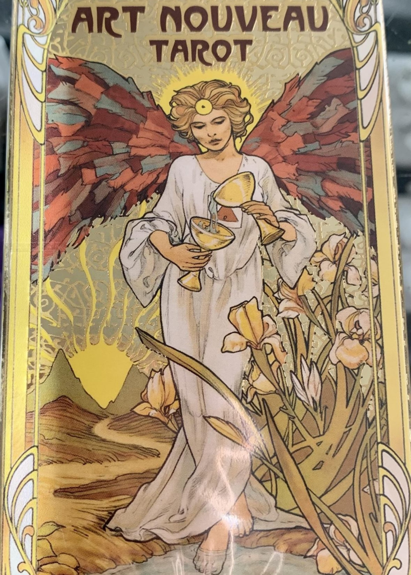 Golden Art Nouveau Tarot - BY GIULIA F. MASSAGLIA