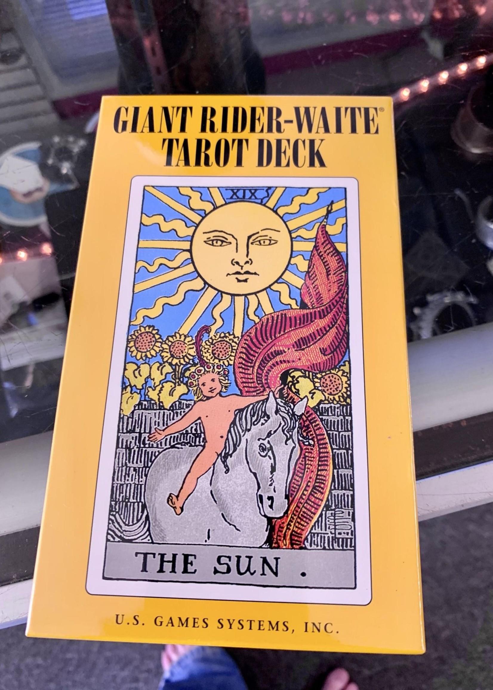 Giant Rider-Waite Tarot Deck