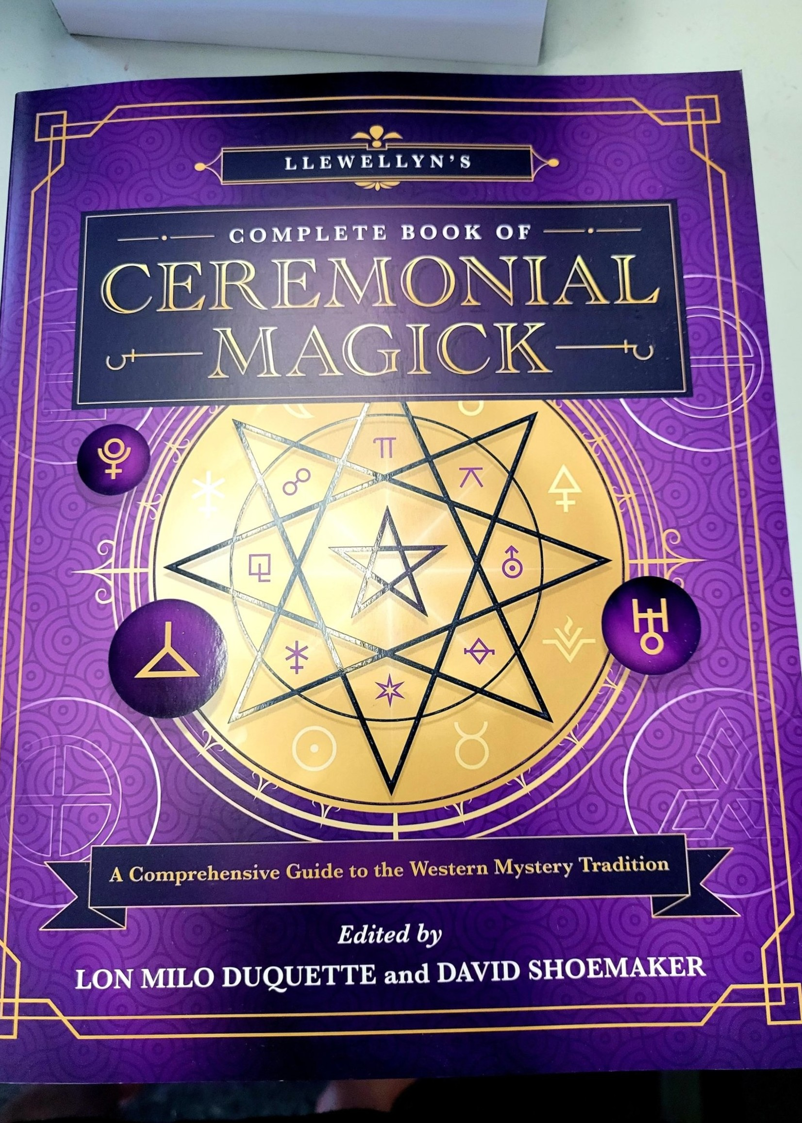 Llewellyn's Complete Book of Ceremonial Magick - BY LON MILO DUQUETTE, DAVID SHOEMAKER, DR STEPHEN SKINNER, DENNIS WILLIAM HAUCK, and many more...