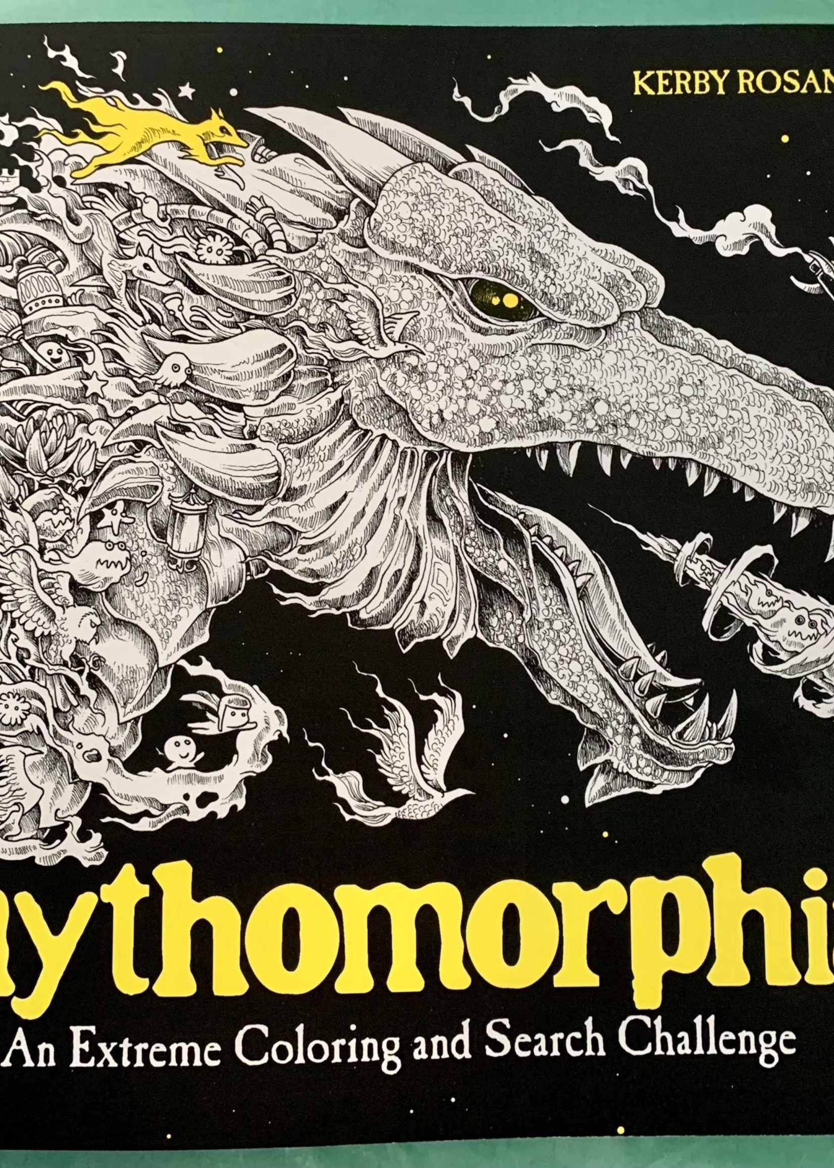 Mythomorphia AN EXTREME COLORING AND SEARCH CHALLENGE - By KERBY ROSANES