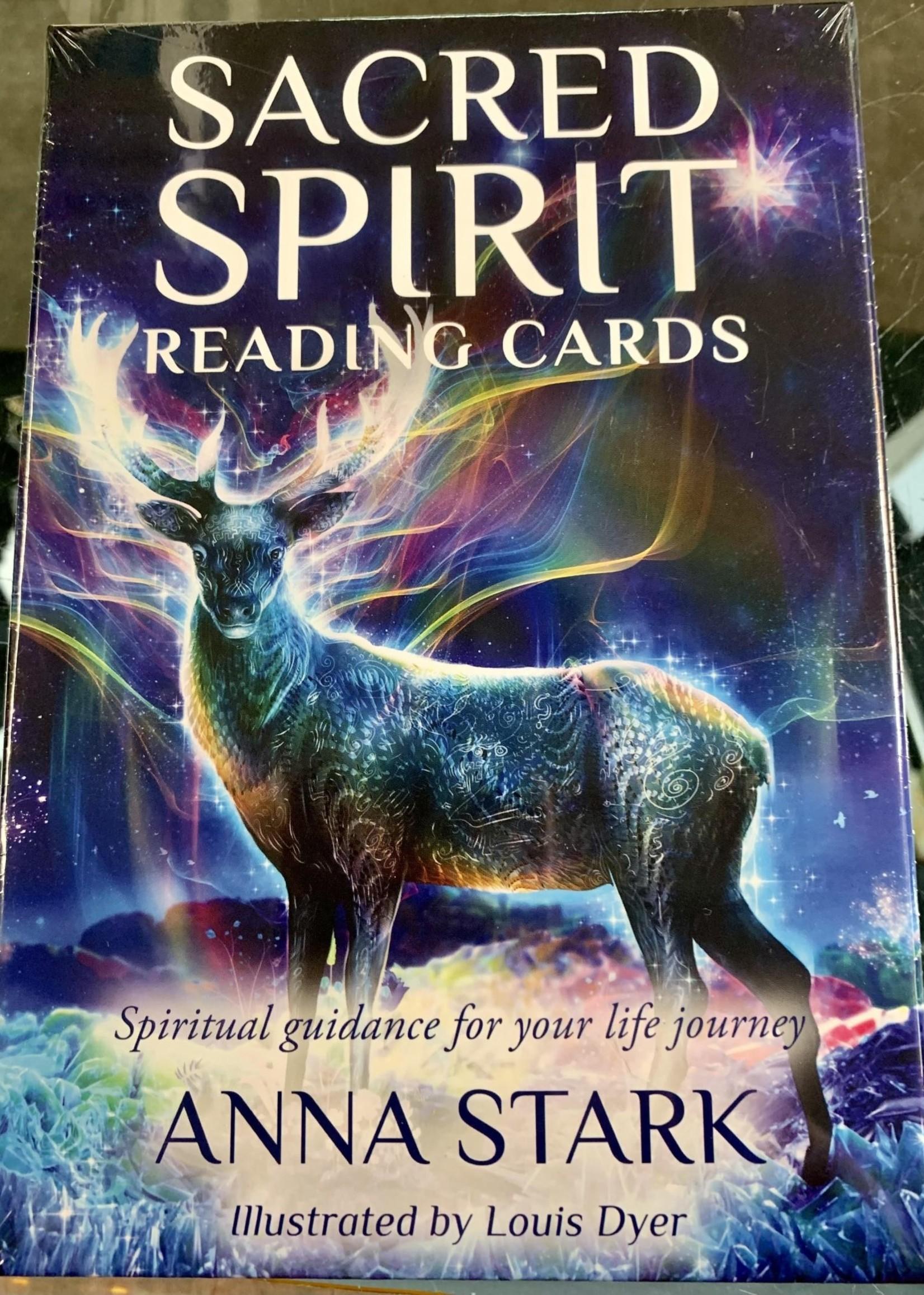 Sacred Spirit Reading Cards Spiritual Guidance for Your Life Journey - Anna Stark