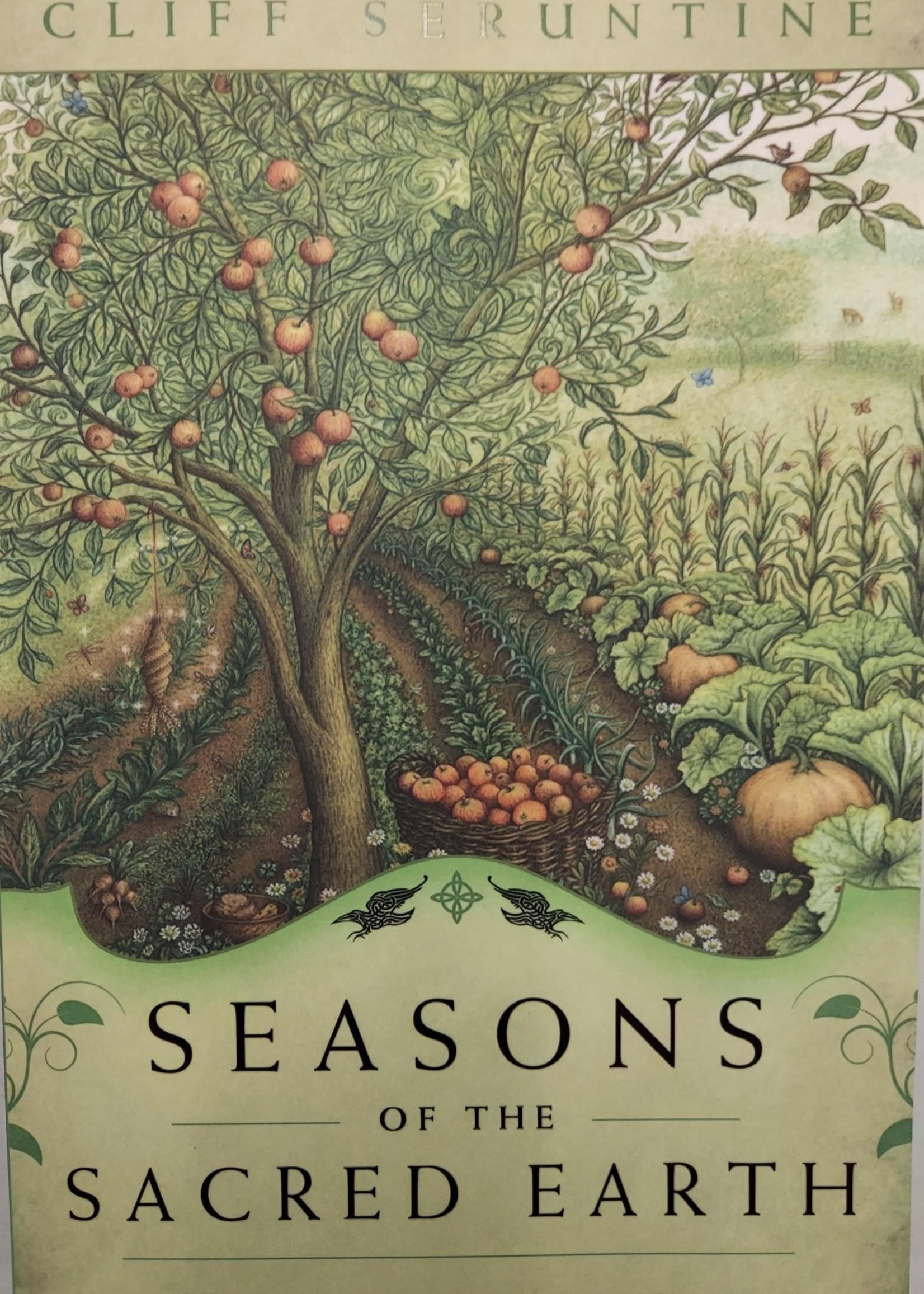 Seasons of the Sacred Earth -  BY CLIFF SERUNTINE