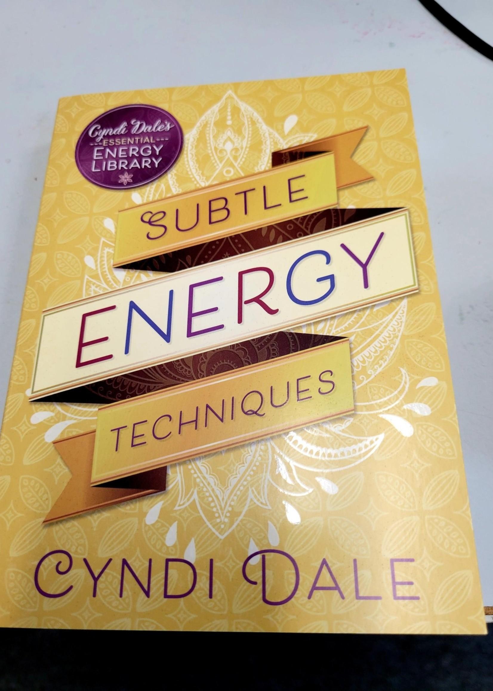 Subtle Energy Techniques - by Cyndi Dale AUTHOR