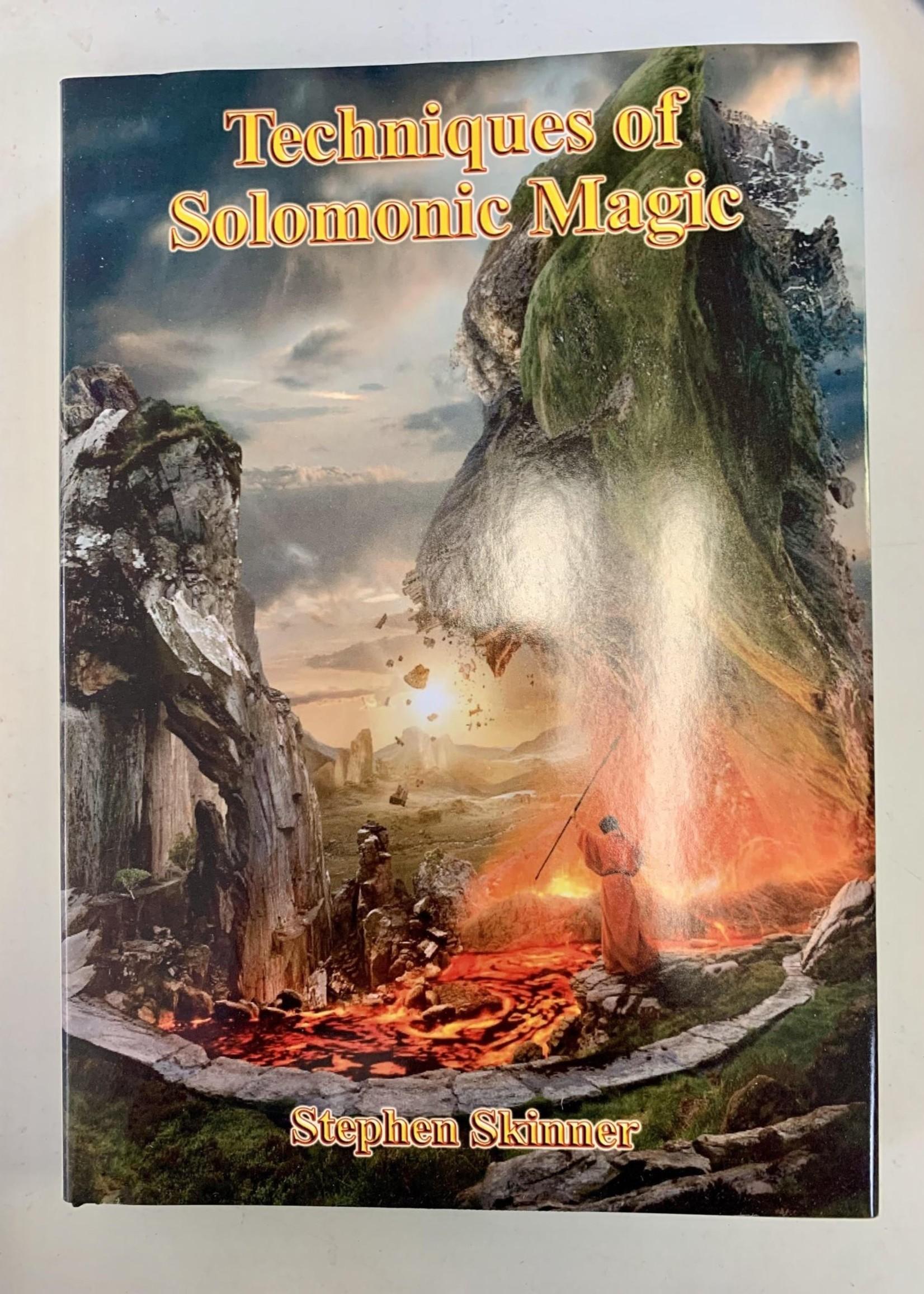 Techniques of Solomonic Magic -  BY DR STEPHEN SKINNER