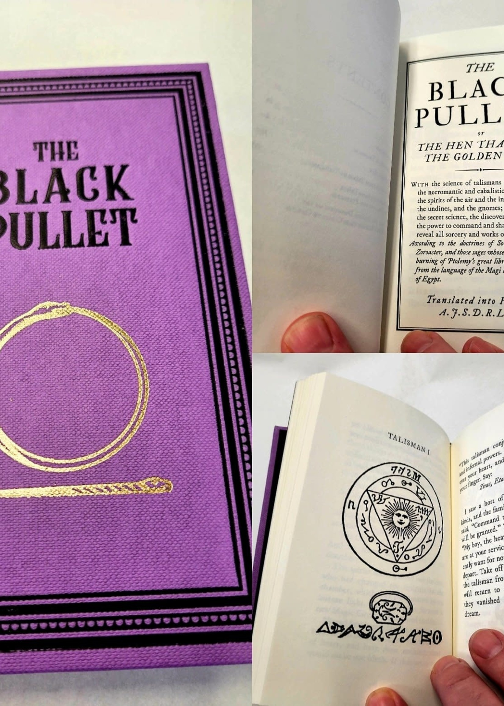 The Black Pullet Translated, edited and introduced by Paul Summers Young  Second edition