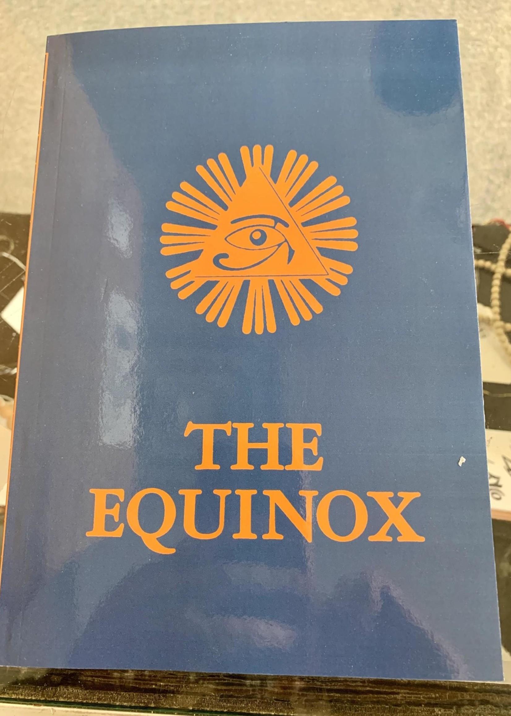 The Blue Equinox The Equinox, Vol. III, No. 1 - Aleister Crowley
