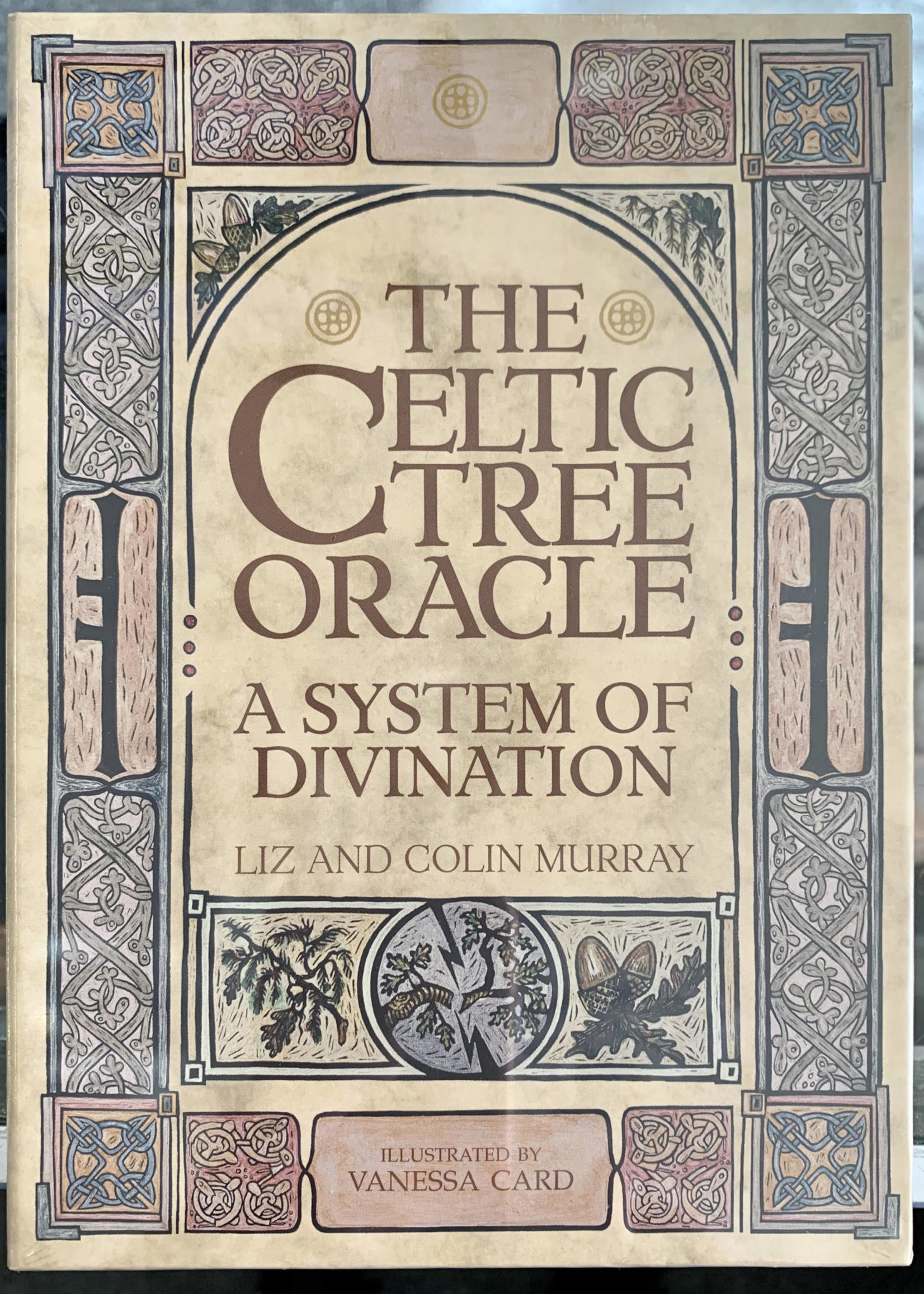 The Celtic Tree Oracle A System of Divination - Colin Murray, Liz Murray, Illustrated by Vanessa Card
