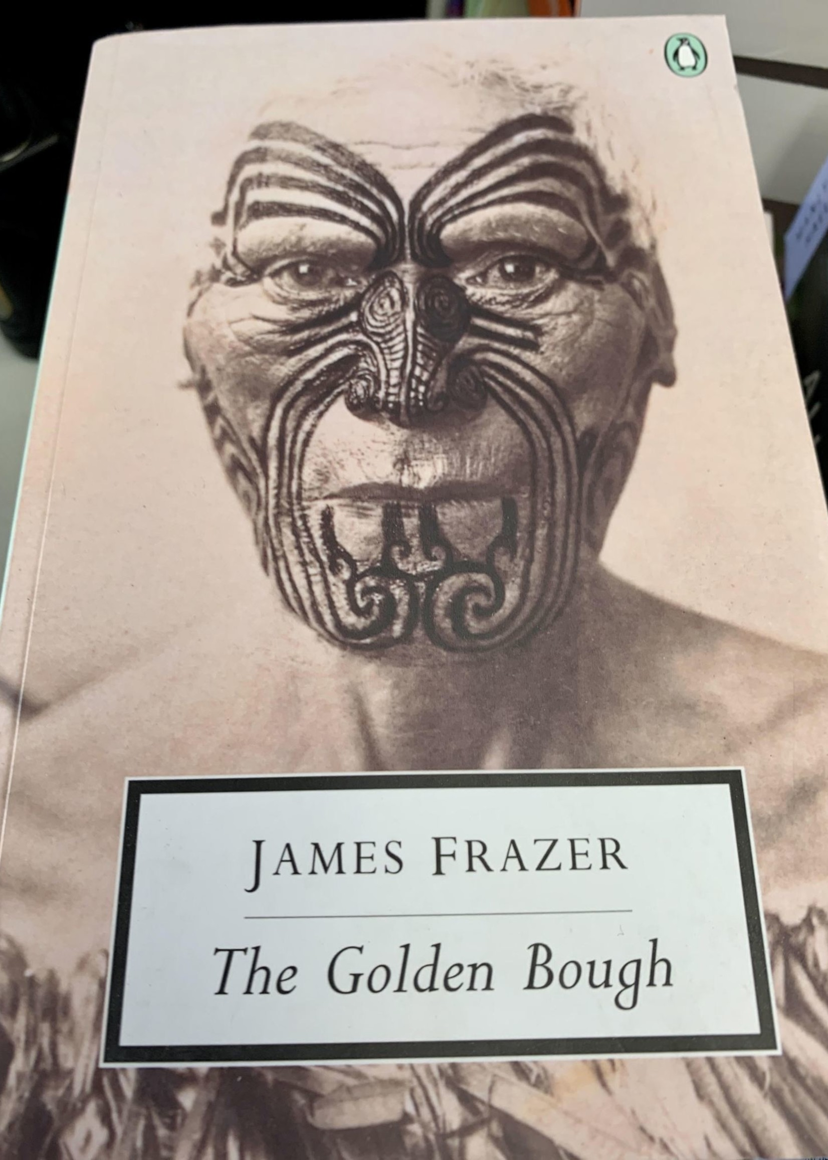 The Golden Bough ABRIDGED EDITION - By JAMES FRAZER Introduction by George W. Stocking