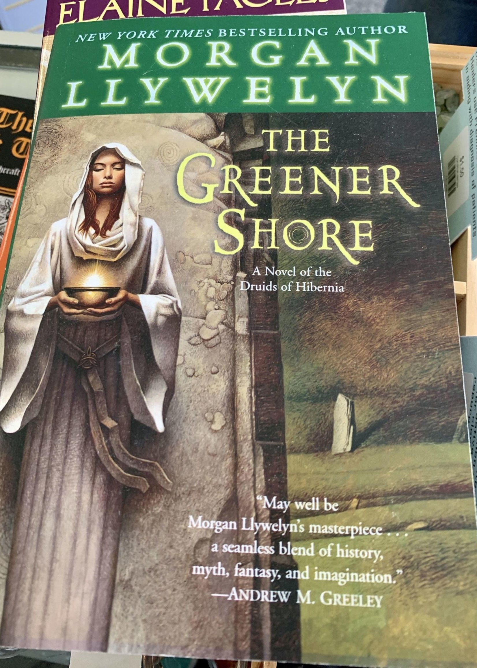 The Greener Shore - Morgan Llywelyn