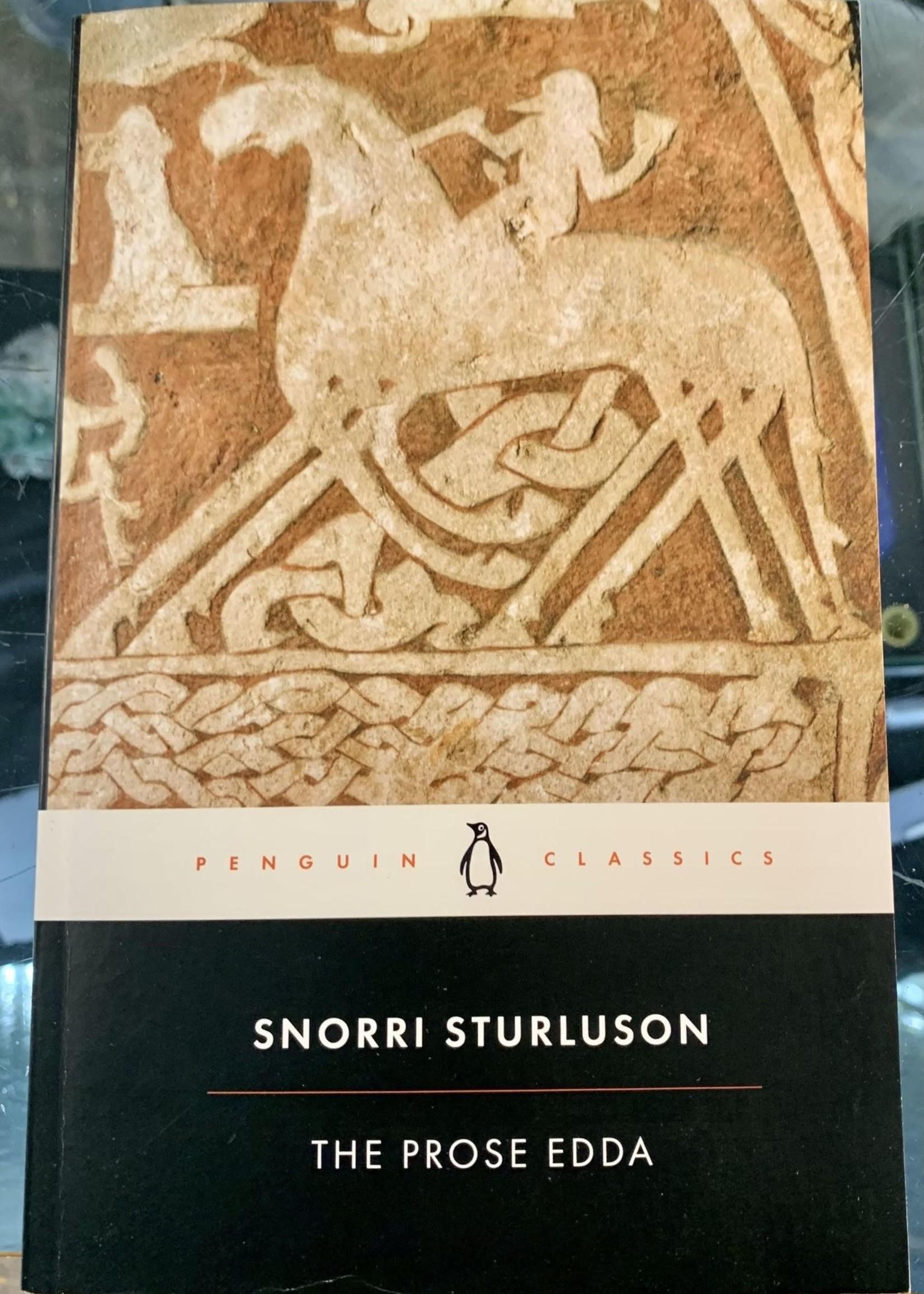 The Prose Edda TALES FROM NORSE MYTHOLOGY- By SNORRI STURLUSON Introduction by Jesse L. Byock Translated by Jesse L. Byock Notes by Jesse L. Byock