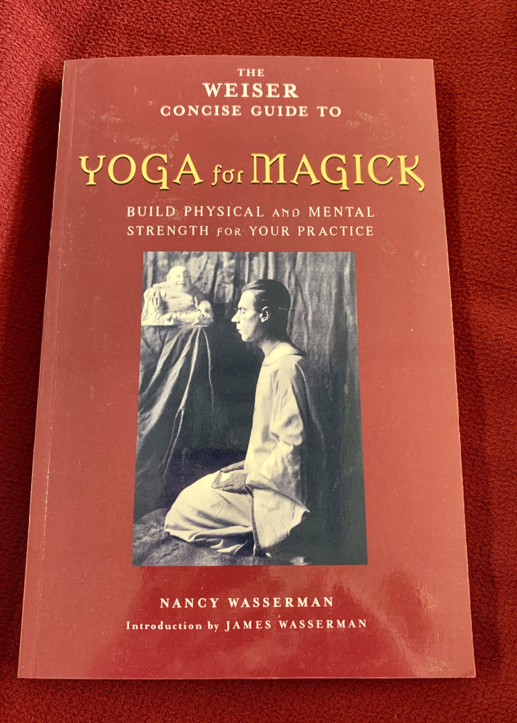 The Weiser Concise Guide to Yoga for Magick Builds Physical and Mental Strength for Your Practice -  Nancy Wasserman, Introduction by James Wasserman
