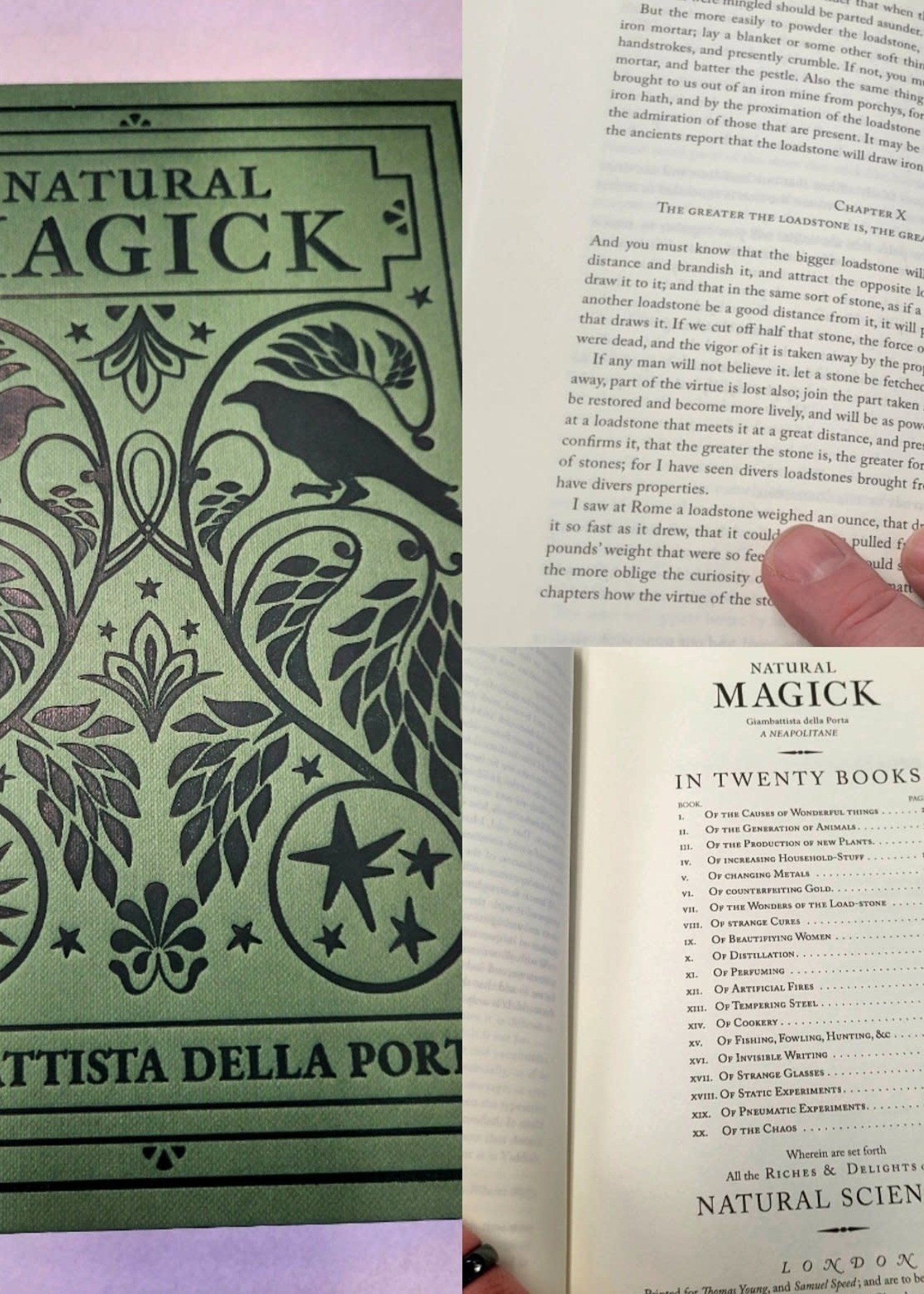 Giambattista della Porta - Natural Magick Revised and Edited by Paul Summers Young  Cover design by Andrei Bouzikov  Illustrations revised by Lea Pieper  Second Edition
