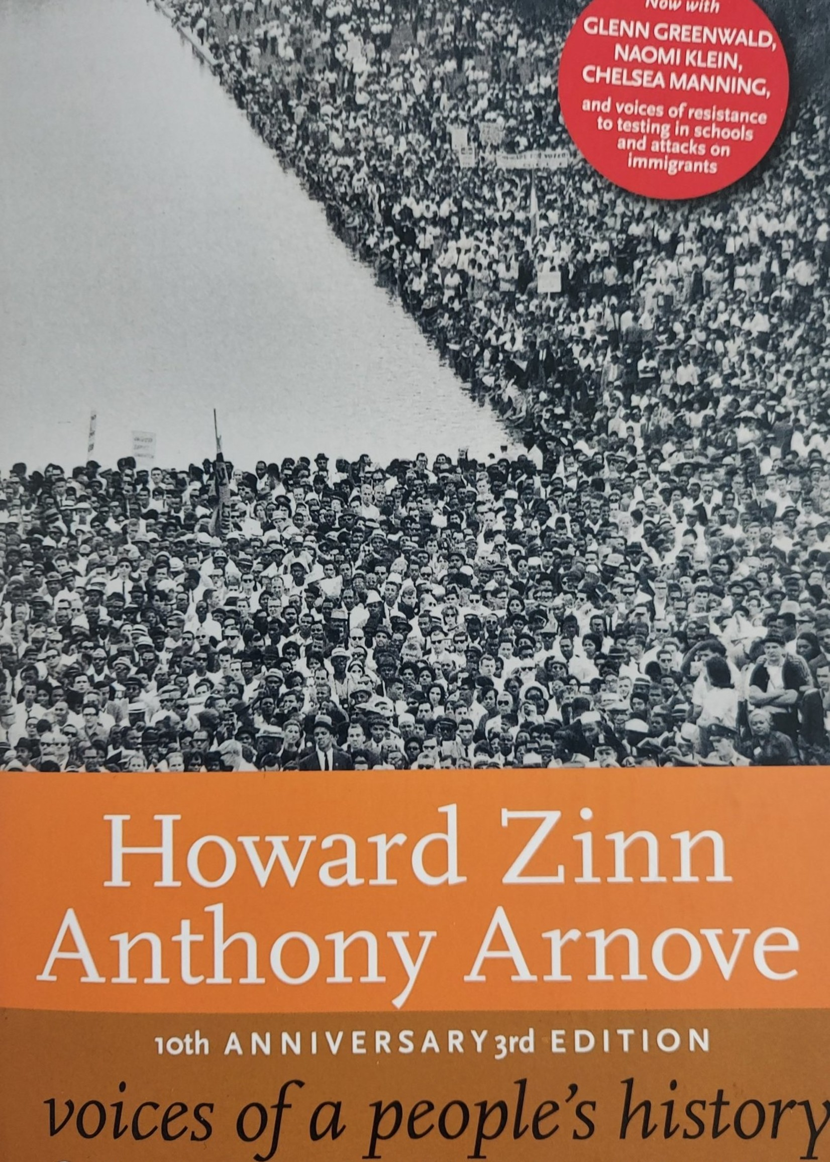 Voices of a People's History of the United States, 10th Anniversary Edition-By HOWARD ZINN and ANTHONY ARNOVE