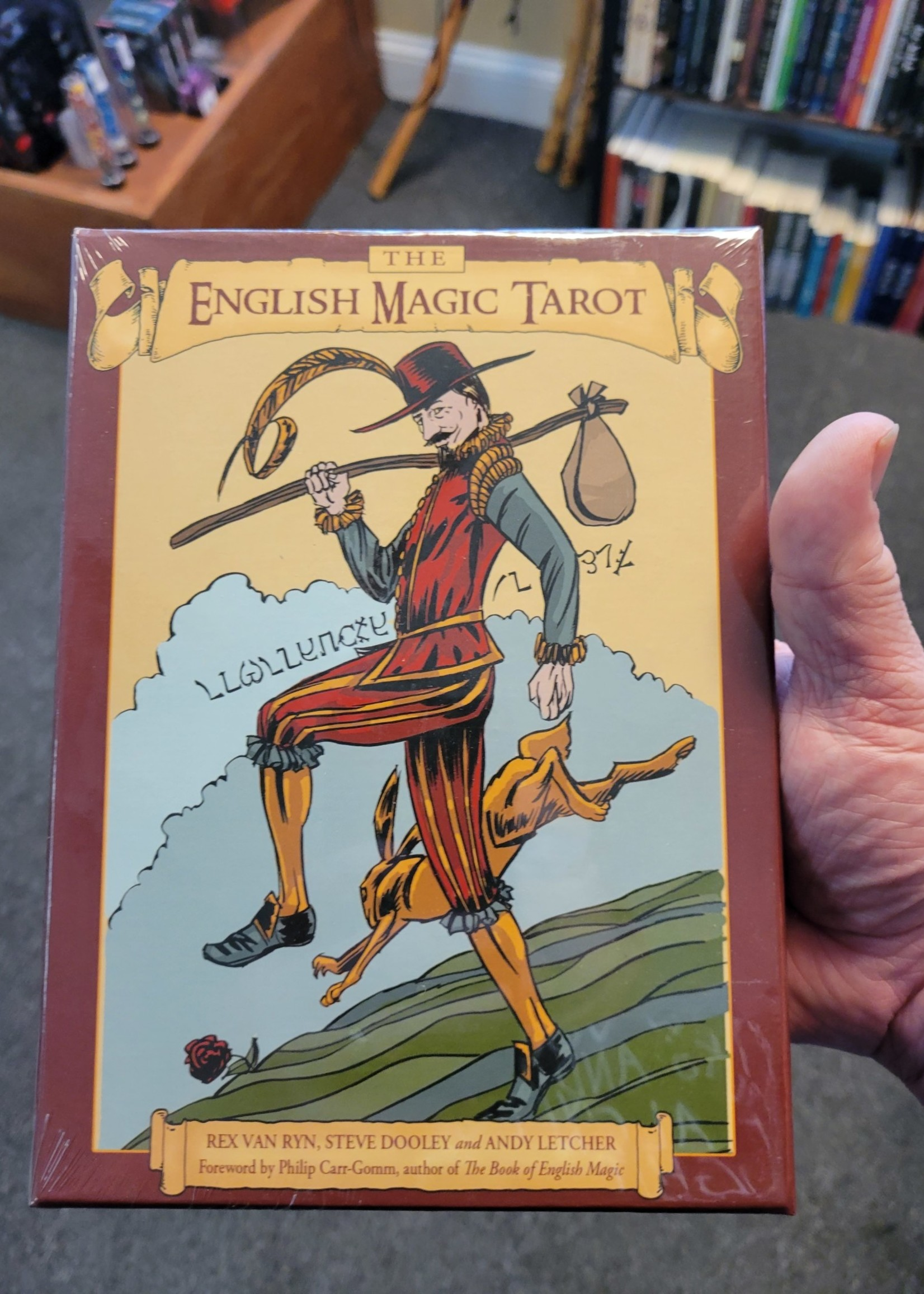 The English Magic Tarot - Illustrated by Rex Van Ryn, Colorist, Stephen Dooley, Written by Andy Letcher, Foreword by Philip Carr-Gomm
