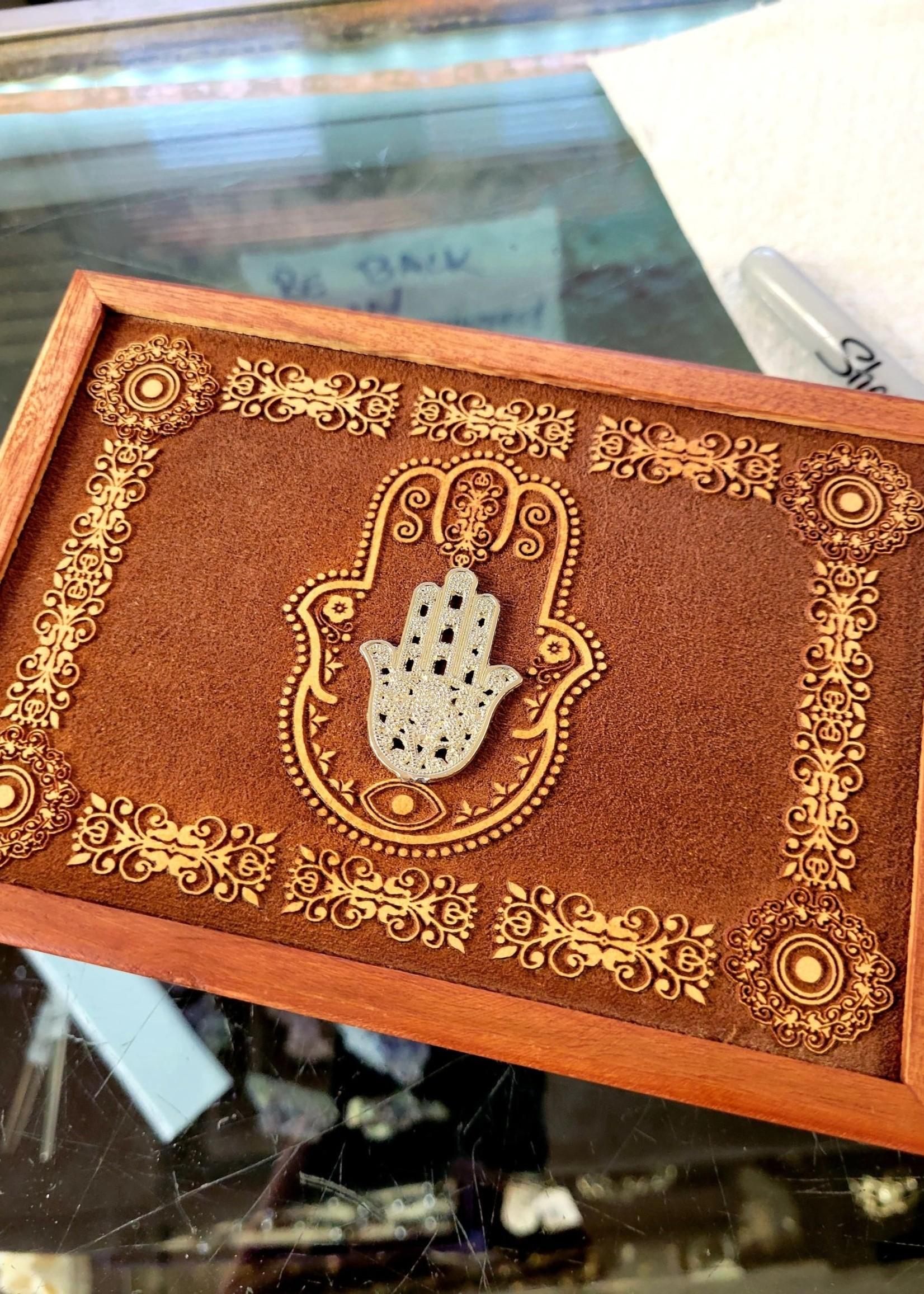 Box Acacia Wood - Laser Engraved