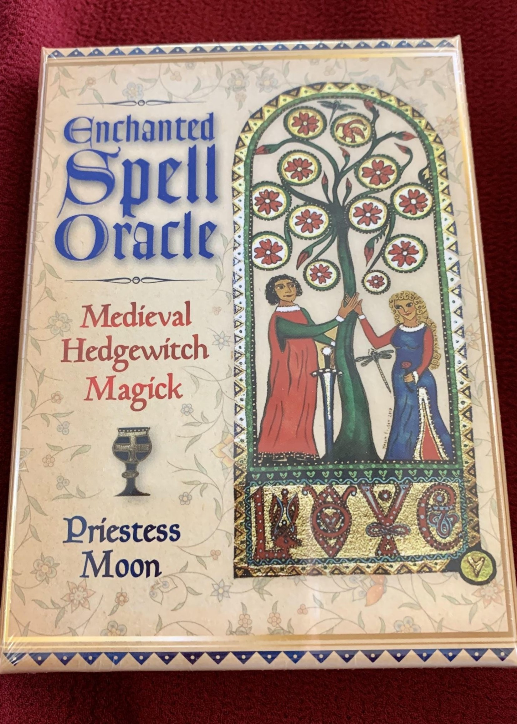 Enchanted Spell Oracle Medieval Hedgewitch Magick