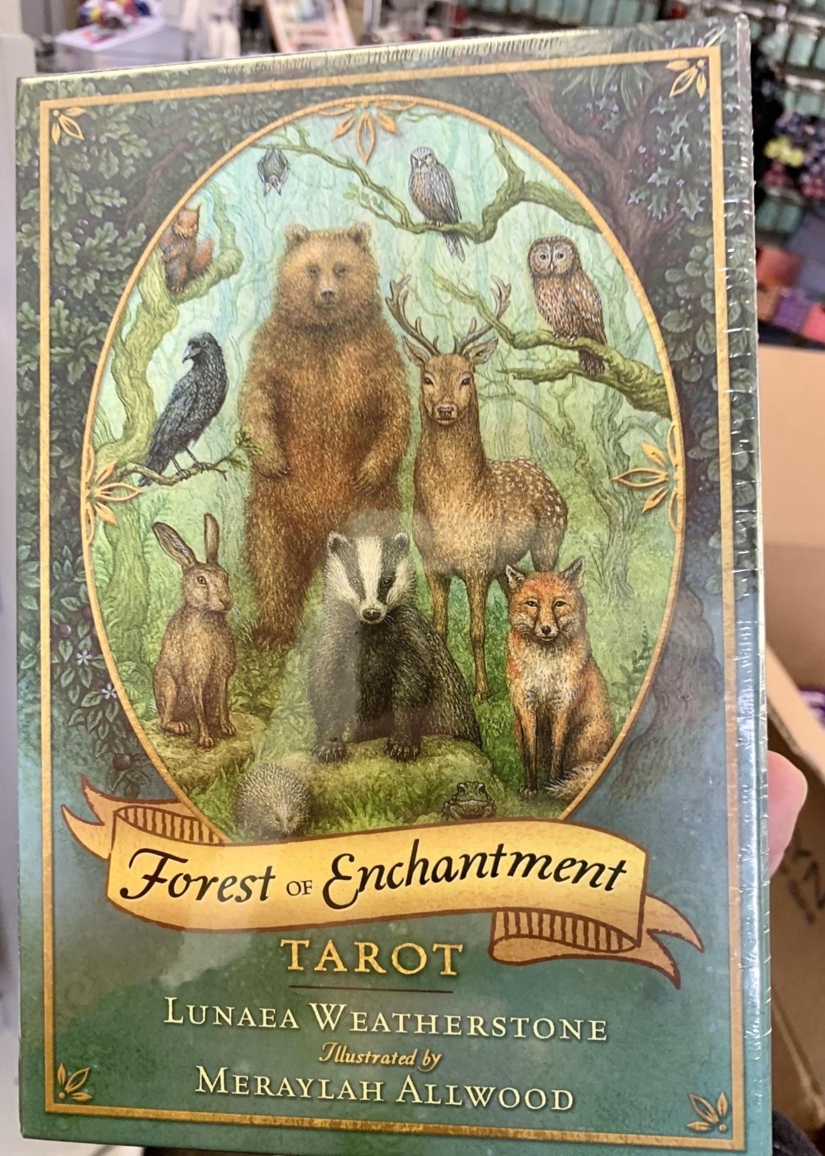 Forest of Enchantment Tarot - BY LUNAEA WEATHERSTONE, MERAYLAH ALLWOOD