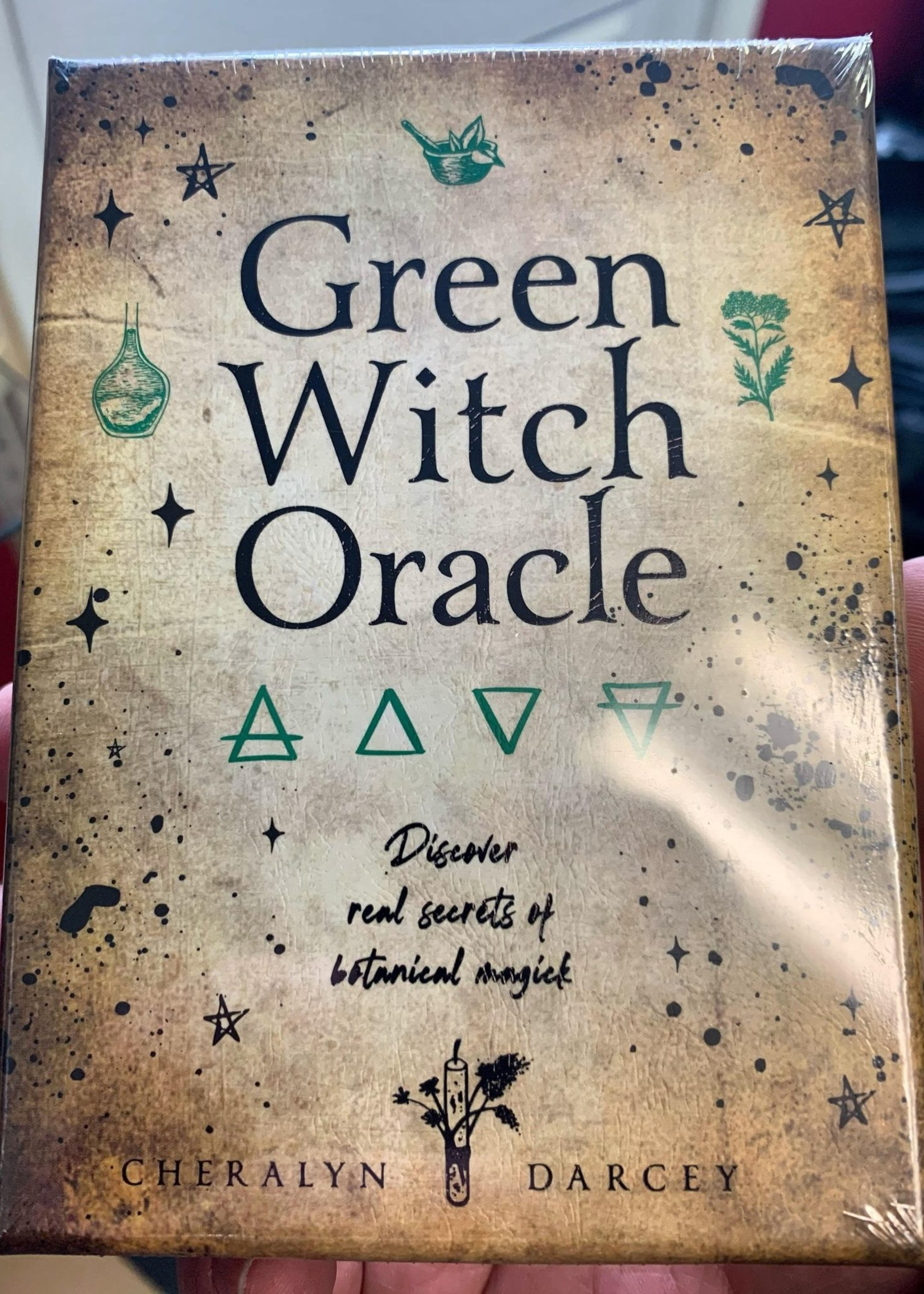 Green Witch Oracle Cards Discover Real Secrets of Botanical Magic Cheralyn Darcey